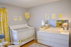 White and grey nursery ideas gray white and yellow nursery yellow white and grey nursery 1 Baby Bedroom, Baby Boy Rooms, Baby Boy Nurseries, Nursery Room, Nursery Bedding, Yellow Nursery, Baby Nursery Neutral, Baby Nursery Themes, Baby Room Decor