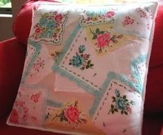 Hankie Pillow