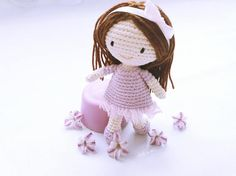 Amigurumi doll pattern Crochet doll pattern Doll crochet
