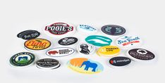 "Vinyl oval or ""euro-style"" stickers are made with a thick, durable vinyl and a UV laminate. Upload your design & get a proof in 8 hours + free shipping."