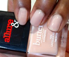 Allure and Butter London Arm Candy Nail Polish Collection   Nude Stilettos #bLxAllure