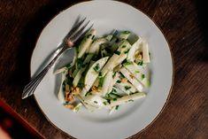 Apple, Fennel + Manchego Salad