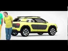 Citroën Cactus Concept Car (Official Video 2013)
