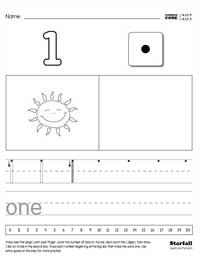 kindergarten numbers worksheet generator kcc4 teachstarfallcom
