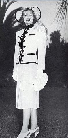 Lucille Ball for summer 1938