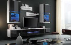 El conjunto de muebles Margo es un fantástico modelo para salones comedores con decoraciones y estilos diversos.