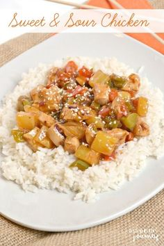Sweet & Sour Chicken with Kraft Recipe Makers! Its delicious & perfect for dinner tonight. #KraftRecipeMakers #shop #cbias