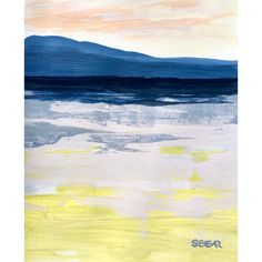 Ocean Colors, A Moment In Time, Color Studies, Contemporary Landscape, Custom Framing, Pastel, Texture, Artist, Painting