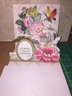 "Anna Griffin pop-up card ""Get Well"""