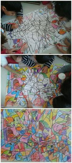 Çizgilerle sanat