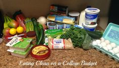 Eating Clean on a College Budget: The Vegetarian Prep