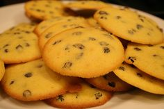 Persian Raisin Cookies! Leave out raisins if you prefer, the cookie is so yummy either way!