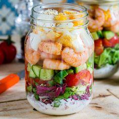 Image result for prawn cobb salad