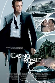 Casino Royale (2006) - Shooting locations in Venice:  Piazza San Marco with St Mark's Basilica, St Mark's Campanile, Venetian Lagoon and Grand Canal with Rialto Bridge and Santa Maria della Salute. BTW the venerable luxury hotel with the spectacular view of Piazza San Marco doesn't exist in Venice. In reality it's Prague's Národní Muzeum. The palazzo which appears to collapse into the Canal Grande, however, does (still) exist. You'll find it opposite the Rialto's vegetable market.