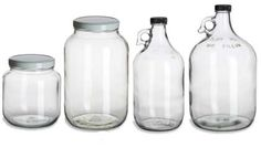 Kristan Cunningham links to a site called Specialty Bottle that sells jars and bottles for really cheap (less than $2 each, sometimes like 50 cents); put toiletries and food or whatever in pretty containers for a cohesive & planned look!