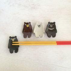 クマの箸置き