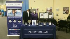 Live or work in Ballantyne? Stop by and say hello. I am set up at the Sports Connection on Ardrey Kell Rd. in Ballantyne.   Start your 2016 off great by looking your best with a nice, high collar professional look, thanks to the addition of a Perky Collar.  Here is my display including the new plaque that showcases the article in Investors Digest in November.  Don't miss out. Here is your chance to avoid paying shipping.