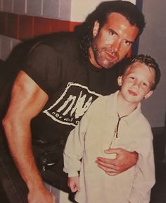 An oldie but goody of Scott and Cody Hall. Wrestling Divas, Wcw Wrestling, Wrestlemania 20, Chris Benoit, Kevin Nash, Eddie Guerrero, Shawn Michaels, Professional Wrestling, Lucha Libre