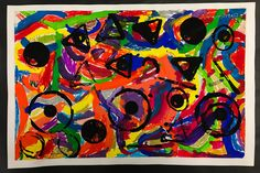 Paintbrush Rocket | Kindergarten & First Grade Lessons