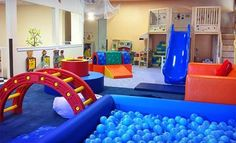 Playground in the kids bedroom. Wow a lot of people likes this picture, cool!… Playground in the kids bedroom. Wow a lot of people likes this picture, cool! Kids Gym Equipment, Indoor Playroom, Playroom Ideas, Garage Playroom, Playroom Design, Daycare Ideas, Basement Bathroom, Pinterest Home, Playground Design