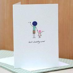 tarjetas de felicitacion para papa creativas