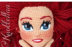 ✏️Drawing with yarns and needles 🌹Mother of three 📸Photographer: 🚫No customized orders ✋🏽Patterns are not for sale Amigurumi Doll, Amigurumi Patterns, Doll Patterns, Doll Eyes, Doll Face, Knitted Dolls, Crochet Dolls, Crochet Doll Pattern, Crochet Patterns