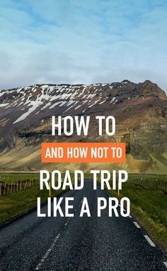 How to road trip like a pro! #roadtrip #hacks# travel