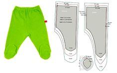 A los bebecitos les traemos este fácil y cómodo pantalón con patrón escalado en tres tallas, de 0 a 12 meses.Para trazar la talla 1, dibuja un rectángulo de 13 x 34 cms. El largo de tiro delantero …