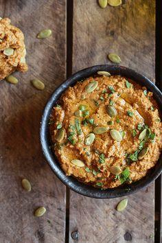 Roasted Pumpkin Seed Hummus