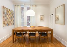Designholmen home studio by Downey Design, Parkdale, Toronto. Interior Photography, Home Studio, Dining Table, Dining Rooms, Living Spaces, Architecture, Kitchen, Furniture, Toronto
