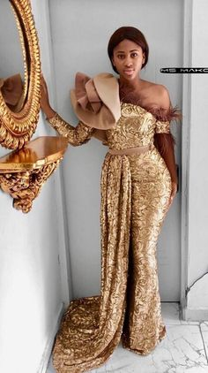 2019 Latest and Cute Asoebi Styles Collections latest ankara styles 2018 for ladies,latest aso ebi styles lace styles ankara styles for wedding lace gown styles aso ebi styles 2019 Lace Gown Styles, Aso Ebi Lace Styles, African Lace Styles, Nigerian Dress Styles, Ankara Gown Styles, African Wear Dresses, Latest African Fashion Dresses, Ankara Fashion, Latest Lace Styles