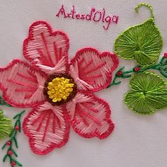 crewel embroidery kits for sale Hand Embroidery Videos, Basic Embroidery Stitches, Embroidery Flowers Pattern, Embroidery Stitches Tutorial, Simple Embroidery, Creative Embroidery, Learn Embroidery, Hand Embroidery Designs, Embroidery Kits