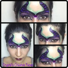 Maleficent by Crystal's Creative Faces