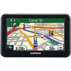 """Garmin nüvi 50 5-inch Portable GPS Navigator(US) by Garmin. $124.99. With a big 5"""" (12.7 cm) touchscreen, more than 5 million points of  interest (POIs) and spoken turn-by-turn directions, nüvi 50 makes  driving fun again. Get Turn-by-turn Directions nüvi 50's intuitive interface greets you with 2 simple choices:  """"Where To?"""" and """"View Map."""" Touch the screen to easily look up addresses  and services and to be guided to your destination with voice-prompted,  t..."""