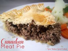 Love Bakes Good Cakes: Canadian Meat Pie, ditch the pork Entree Recipes, Meat Recipes, Cooking Recipes, Tortiere Recipe, French Meat Pie, Canadian Food, Canadian Recipes, Beef Dishes, Mince Dishes