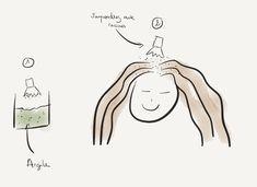 Espacer les shampoings grace au shampoing sec à l'argile ou maïzena