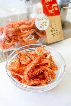 Hee marlin korean fried red shrimp Larder, Shrimp, Fries, Korean, Meat, Food, Korean Language, Essen, Meals