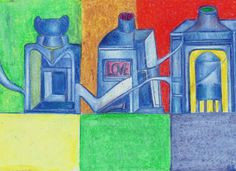 Tinteros o frascos de amor. #HilarioBarrero