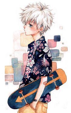 Imagem de anime and anime boy