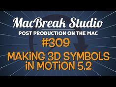 New MacBreak Studio episode - Making 3D symbols from fonts in Motion 5.2! http://www.motionvfx.com/B4063  #macbreak #mac #motion #filmmaking