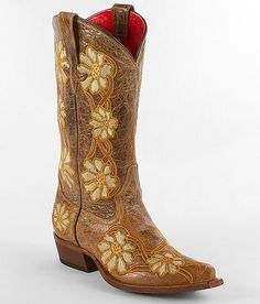 daisy+and+cowboy+boot+tattoo+|+Macie+Bean+Floral+Cowboy+Boot+#buckle+#fashion+www.buckle.com