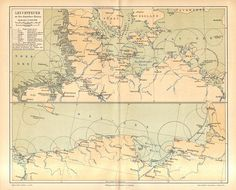 1890 Lighthouse Locations along the German Coasts Baltic Sea