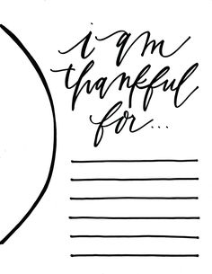 thankful thanksgiving placemat template