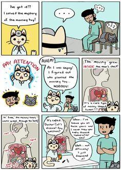 Doctor Cat is soo cute