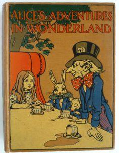 ''ALICE'S ADVENTURES IN WONDERLAND'' - 1919 illus. CHARLES ROBINSON | eBay
