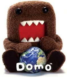 Just admit that Domo is better than the world!