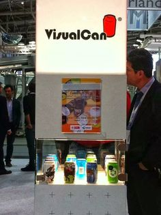 Stand created for VisualCan for the largest world exposition of beverage products in Germany