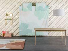 Du mobilier et linge de lit très graphiques, La Redoute Intérieurs avec Petite Friture