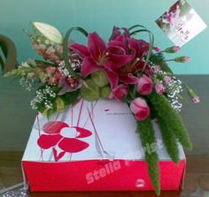 Cake Special packaging #Flower
