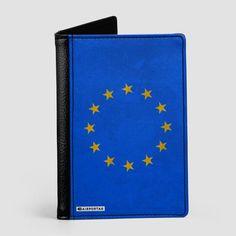 European Flag - Passport Cover
